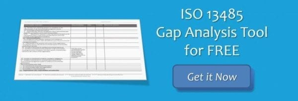 ISO 13485 Gap Analysis Tool