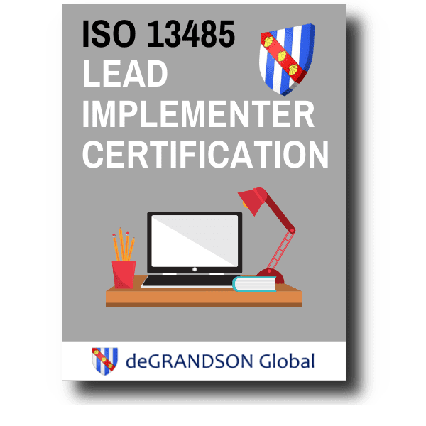 deGRANDSON Global UK ISO 13485 Lead Implementer Product